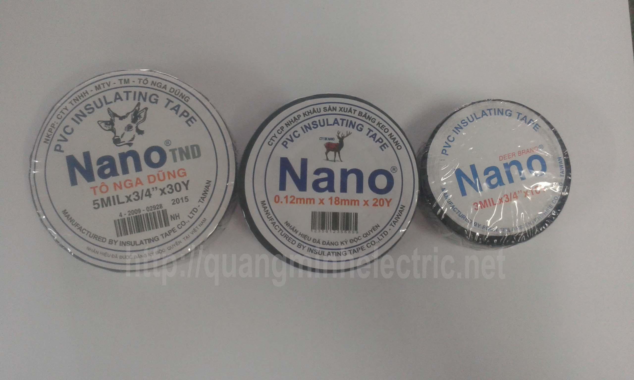 băng keo điện nano giá rẻ