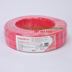 dây điện đôi cadivi 1.5 giá rẻ tại bình dương