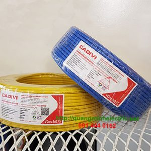 dây điện đôi cadivi lõi mềm