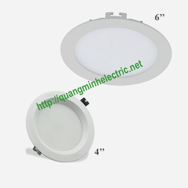 đèn led down light âm trần