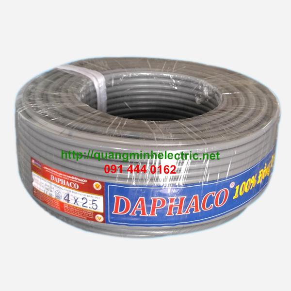 Dây Điện Daphaco 4 x 2.5
