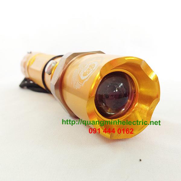 Đèn Pin Mini Led Màu Vàng Kim