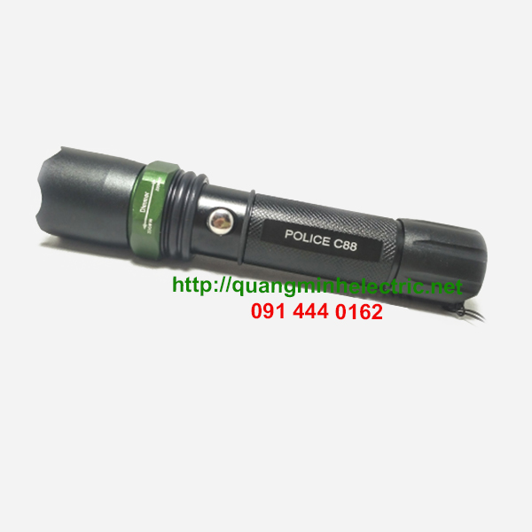 Đèn Pin Mini Sạc Điện Police