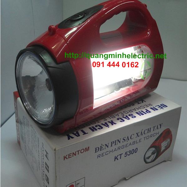 Đèn sạc Kentom KT-5300