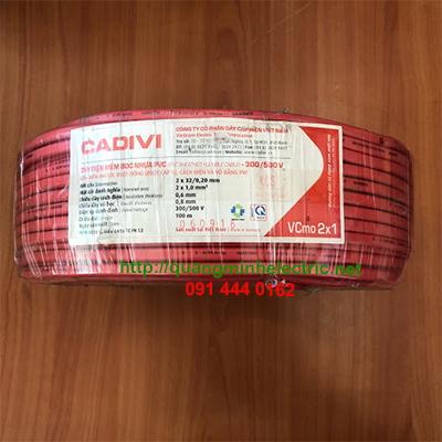 dây điện đôi dân dụng Cadivi