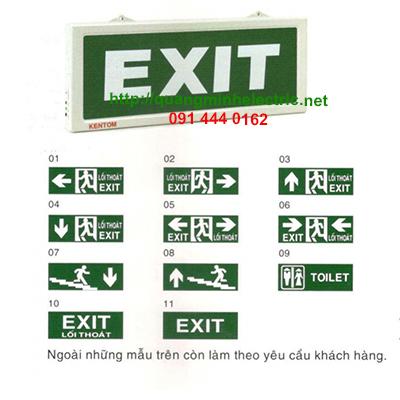 Đèn lối thoát hiểm Kentom KT110