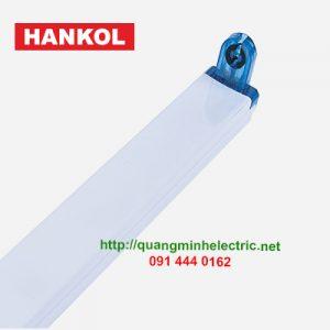 Máng đơn đầu gập xanh T8 Hankol