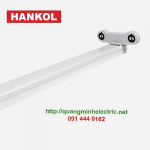 Máng led đôi T8 Hankol