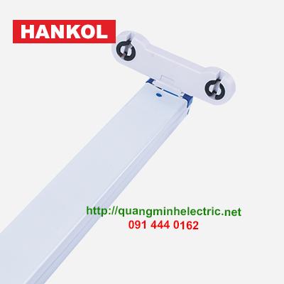 máng led đôi đầu xanh T8 Hankol
